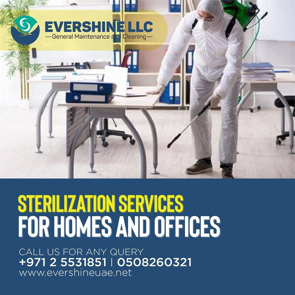 Home office disinfection service in abu dhabi